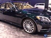 Mercedes-Benz S-Class на выставке