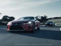Реклама Lexus LC 500
