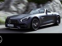 Промролик Mercedes-AMG GT C Roadster
