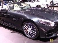 Mercedes-AMG GT C Roadster на выставке
