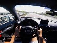 Разгон Audi RS 3 Sportback