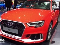 Audi RS3 Sportback на выставке