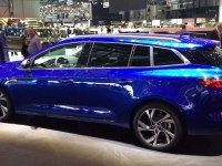 Renault Megane Estate GT на выставке