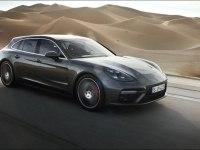 Porsche Panamera Turbo Sport Turismo в движении