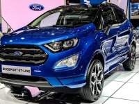 Ford EcoSport ST-line обзор с автошоу