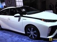 Toyota Mirai - Интерьер и Экстерьер