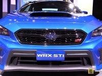 WRX STI - интерьер и экстерьер