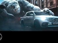Промо видео Mercedes-Benz X-Class