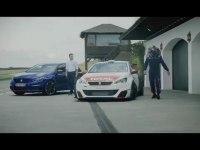 Промо видео Peugot 308 GTi
