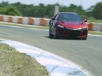 Honda NSX и Stoffel Vandoorne