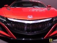 Honda NSX - интерьер и экстерьер