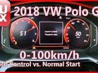 VW Polo GTi, разгон 0-100