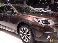 Subaru Outback - экстерьер и интерьер