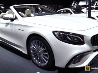 Mercedes S-Class Cabriolet - экстерьер и интерьер