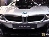 BMW i8 Coupe - экстерьер и интерьер