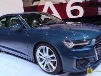 Audi A6 - экстерьер и интерьер