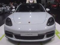 Porsche Panamera E-Hybrid Sport Turismo - экстерьер и интерьер