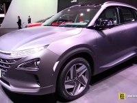 Hyundai NEXO - экстерьер и интерьер