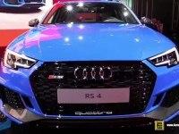 Audi RS4 Avant - экстерьер и интерьер