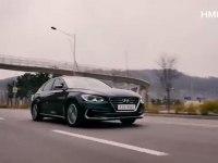 Hyundai Grandeur Hybrid - экстерьер и интерьер