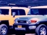 Реклама Тойота FJ Крузер
