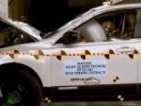Краш-тест Subaru Outback от NHTSA (фронтальный удар)
