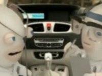 """Реклама  Рено Гранд Сценик """"Мощная стереосистема"""""""