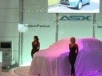 Презентация Mitsubishi ASX на автошоу в Женеве