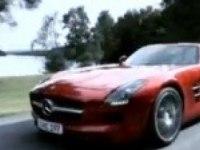 Промовидео Mercedes-Benz SLS AMG