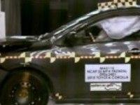 Краш тест Toyota Corolla