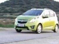 Видеообзор Chevrolet Spark (англ)