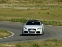 Audi TT RS Roadster на треке