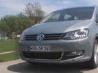Видеообзор Volkswagen Sharan (нем.)