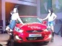 Корейская премьера Hyundai Accent в YongSan I-PARK mall