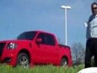 Видеообзор Ford Sport Trac (англ)