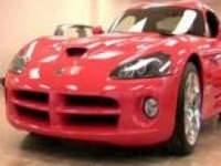 Интерьер Dodge Viper Coupe