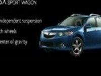 Премьера модели TSX Sport Wagon (2ч.)