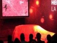 Премьера модели Range Rover Evoque на Лос-Анджелесском Автосалоне.