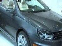 Volkswagen Eos на Лос-Анджелеском автосалоне.