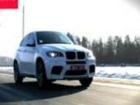 Динамика на асфальте BMW X6 M
