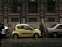 Забавный рекламный ролик Peugeot 107