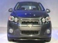 Chevrolet Aveo на Детройтском автосалоне