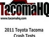 Краш-тест Тойота Такома Дабл Каб