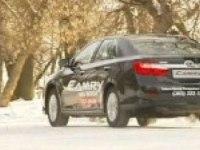 Toyota Camry 2012. Зимний тест-драйв
