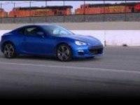 Subaru BRZ тестовый день на треке