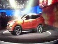 Премьера Hyundai Santa Fe на автошоу в Нью-Йорке