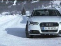 Audi A6 allroad quattro на снегу