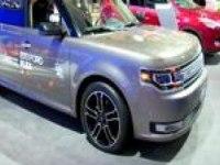 Интерьер и экстерьер Ford Flex на автошоу в Торното