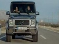 Реклама Mercedes G63 AMG