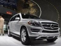 Краткий обзор Mercedes-Benz GL-Class